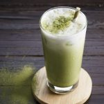 Green Tea and Mint Smoothie